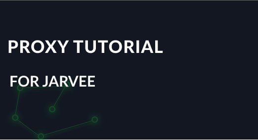 Proxy tutorial for Jarvee