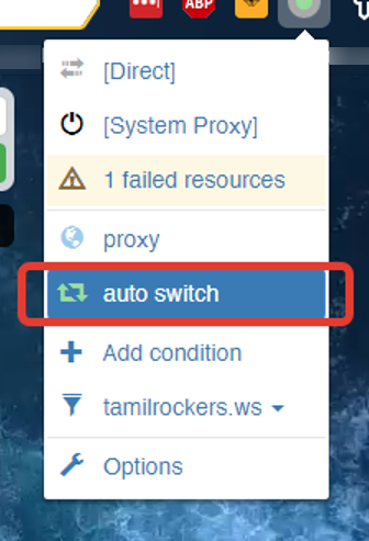 Switch the plug-in to the «auto-switch» mode